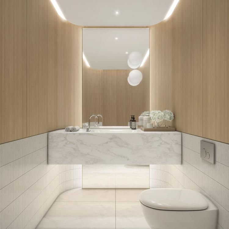 Balmoral Powderroom Wood option