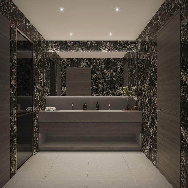 Shinagawa Bathroom option Dark