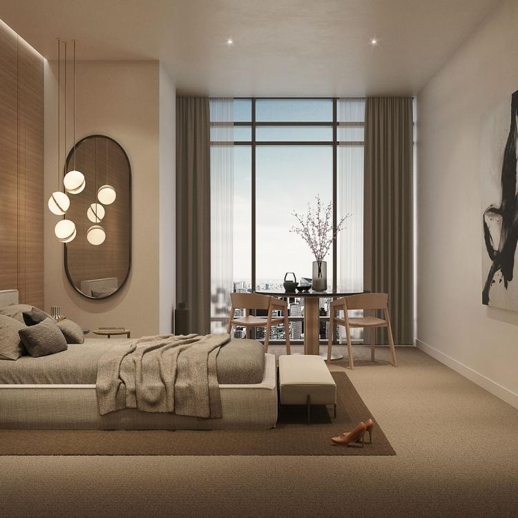Shinagawa Bedroom