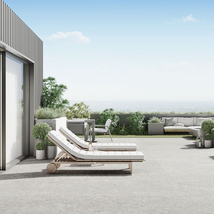 The Rooftop residence - Terrasse